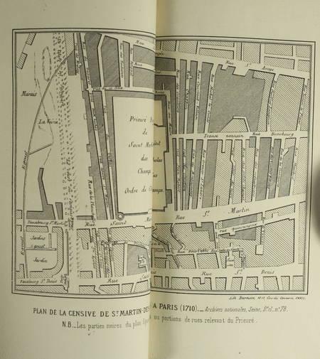 TANON - Registre criminel de la justice de St-Martin des Champs à Paris au 14e s - Photo 1 - livre de bibliophilie