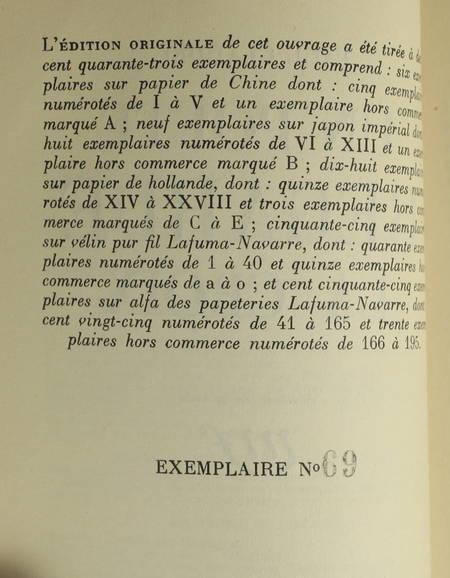 CLAUDEL - Un poète regarde la croix - 1935 - EO - 1/155 alfa Lafuma-Navarre - Photo 0, livre rare du XXe siècle