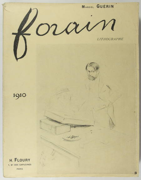 GUERIN (Marcel). Forain lithographe