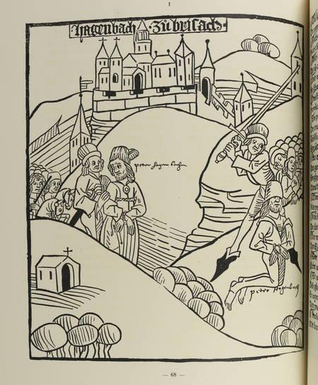 PICOT (Emile) et STEIN (Henri). Recueil de pièces historiques imprimées sous le règne de Louis XI, reproduites en fac-similé, avec des commentaires historiques et bibliographiques