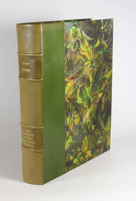 PICOT et STEIN - Pièces historiques imprimées sous le règne de Louis XI - 1923 - Photo 1 - livre d'occasion