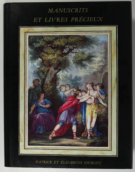 SOURGET. Manuscrits enluminés et livres précieux. Patrick et Elisabeth Sourget. Catalogue n° IX, 1992, livre rare du XXe siècle