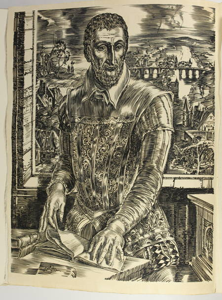 RONSARD - Discours des misères de ce temps - 1930 - Burins de Decaris - Photo 3 - livre du XXe siècle