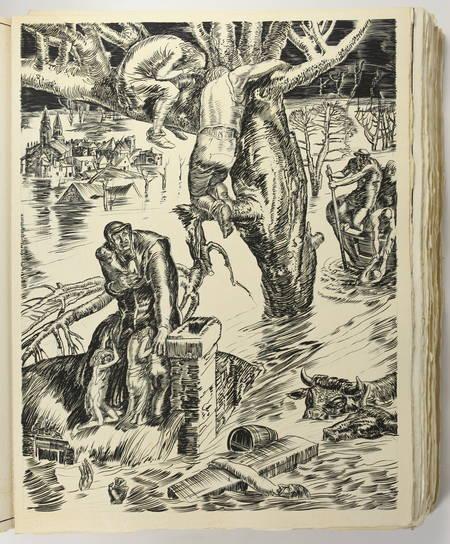 RONSARD - Discours des misères de ce temps - 1930 - Burins de Decaris - Photo 5 - livre du XXe siècle