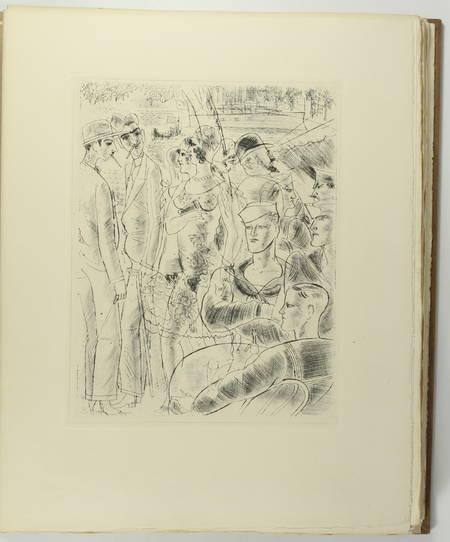 Pierre MAC ORLAN - Les démons gardiens - 1937 - Eaux-fortes de Chas-laborde - Photo 2, livre rare du XXe siècle