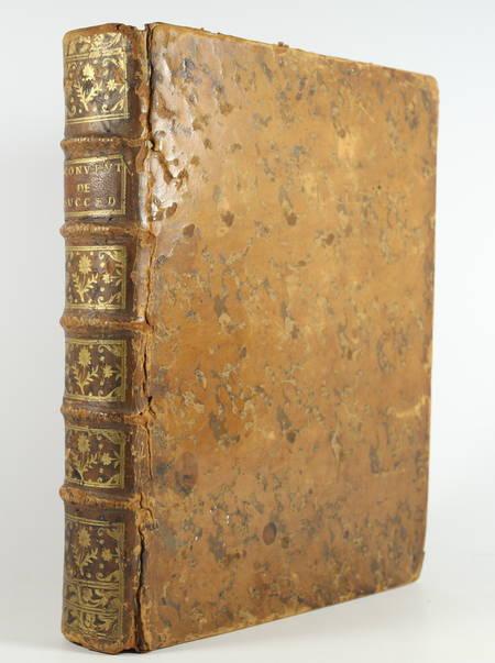 BOUCHEUL (Joseph, avocat au siège royal du Dorat). Traité des conventions de succéder ou successions contractuelles