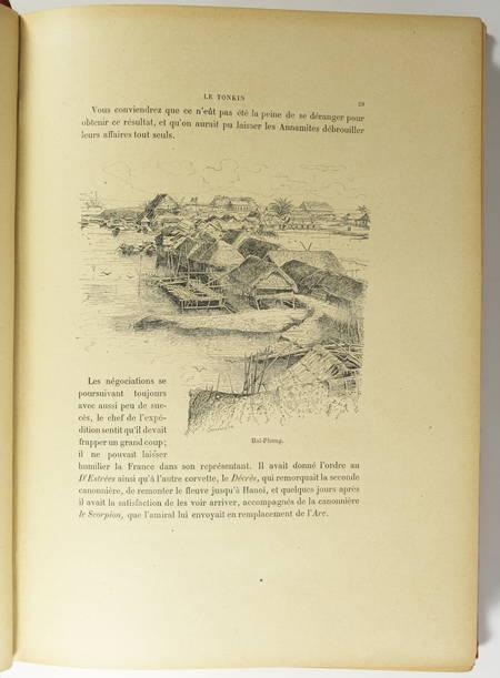 [Viêt Nam] DUMOULIN - Le Tonkin - Illustré par Dick de Lonlay - (vers 1900) - Photo 1 - livre du XXe siècle
