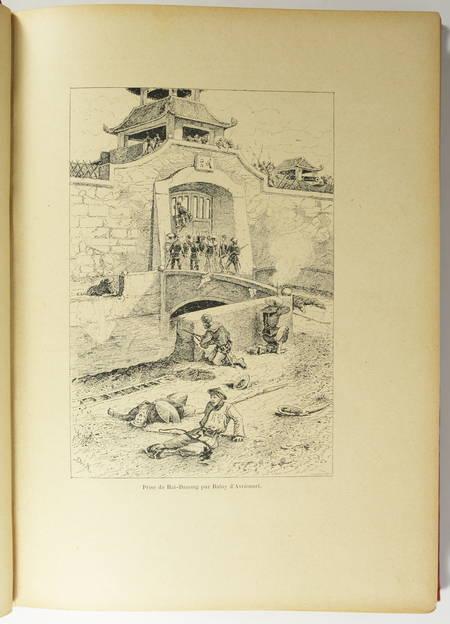 [Viêt Nam] DUMOULIN - Le Tonkin - Illustré par Dick de Lonlay - (vers 1900) - Photo 2 - livre du XXe siècle