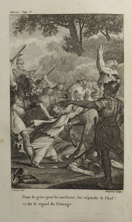 MARMONTEL-  Bélisaire - 1825 - Ex-libris - Gravures - Photo 1, livre rare du XIXe siècle