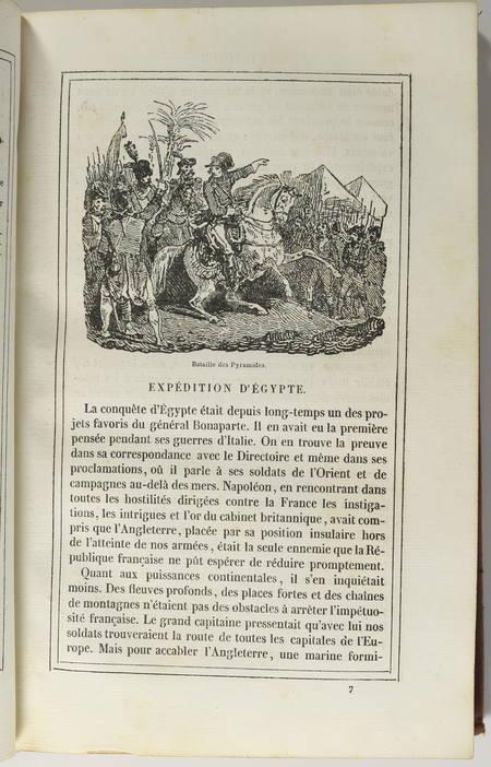 Abel HUGO - Histoire de Napoléon - 1833 - 31 vignettes de Charlet - EO - Photo 2 - livre rare