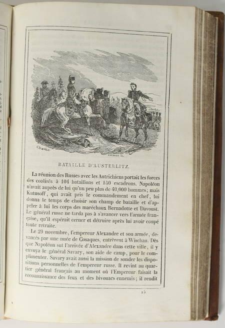 Abel HUGO - Histoire de Napoléon - 1833 - 31 vignettes de Charlet - EO - Photo 3 - livre rare
