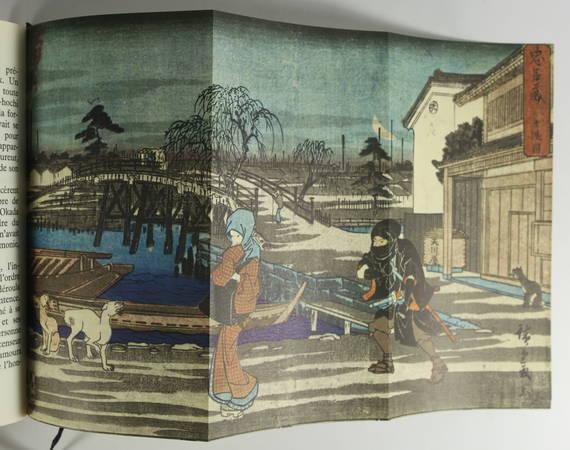 SOULIE DE MORANT (G. ). Le trésor des loyaux Samouraïs. La légende des quarante-sept ro-ninns d'après les textes originaux japonais