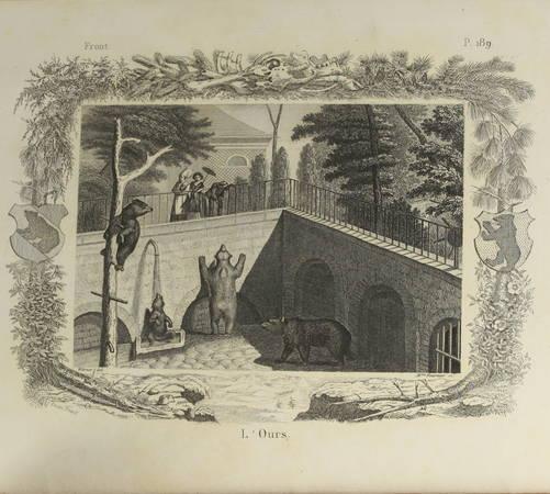 BUFFON - Oeuvres choisies de Buffon, précédées d une notice sur sa vie - 1864 - Photo 1, livre rare du XIXe siècle
