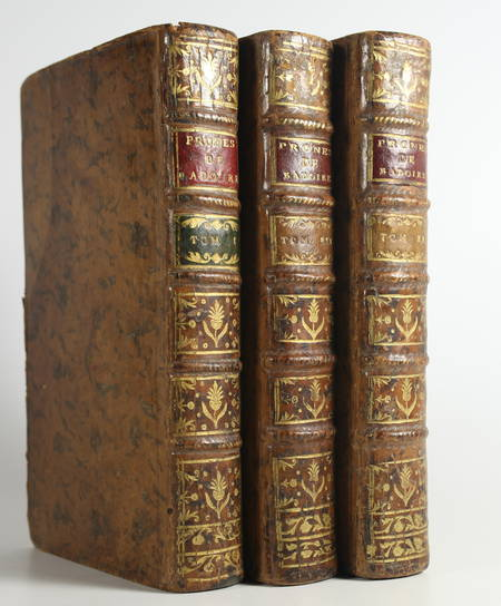 BADOIRE - Prônes sur le sacrifice de la messe - 1765 - 3 volumes - Photo 0 - livre de collection