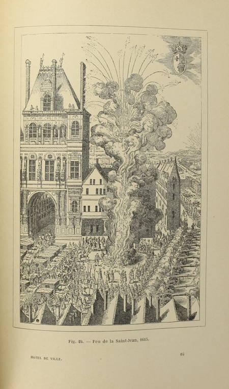 Jehan de La Cité - L'hôtel de ville de Paris et la grève - (vers 1895) - Photo 0 - livre rare