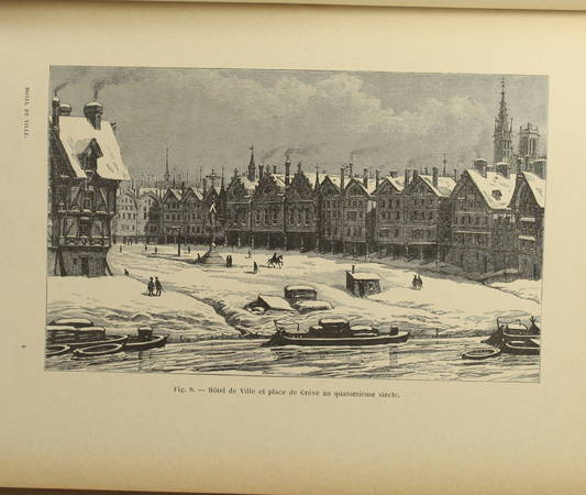 Jehan de La Cité - L hôtel de ville de Paris et la grève - (vers 1895) - Photo 3 - livre du XIXe siècle