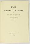 LE PETIT - Art d aimer les livres et de les connaître 1938 - sur chiffon - Etui - Photo 1, livre rare du XXe siècle