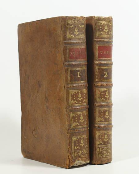 Histoire universelle de Justin, extraite de Trogue-Pompée - 1788 - 2 volumes - Photo 0, livre ancien du XVIIIe siècle