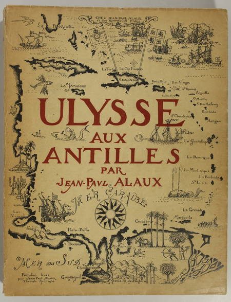Ulysse aux Antilles - 1935 - Illustrations de Gustave Allaux peintre de marine - Photo 0 - livre d'occasion