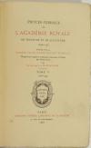 Montaiglon - Procès-verbaux Académie Royale de Peinture et Sculpture 1726-1744 - Photo 1, livre rare du XIXe siècle