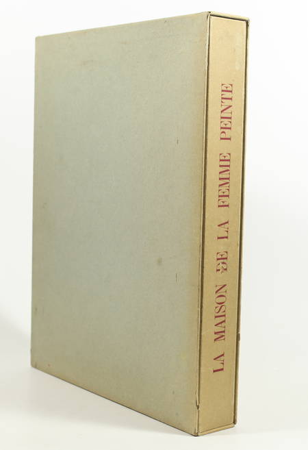 Armand LUNEL - La maison de la femme peinte - 1946 - Signé par André Marchand - Photo 1 - livre du XXe siècle