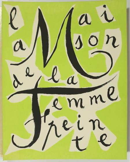 Armand LUNEL - La maison de la femme peinte - 1946 - Signé par André Marchand - Photo 2 - livre du XXe siècle
