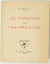 GEORGE-DAY - Les transports dans l  histoire de Paris - 1947 - Photo 0, livre rare du XXe siècle