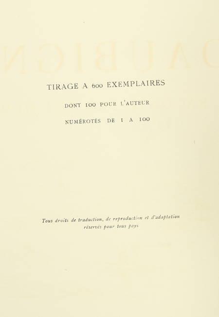 MOREAU-NELATON - Daubigny raconté par lui-même - 1925 - 1/600 exemplaires - Photo 2, livre rare du XXe siècle