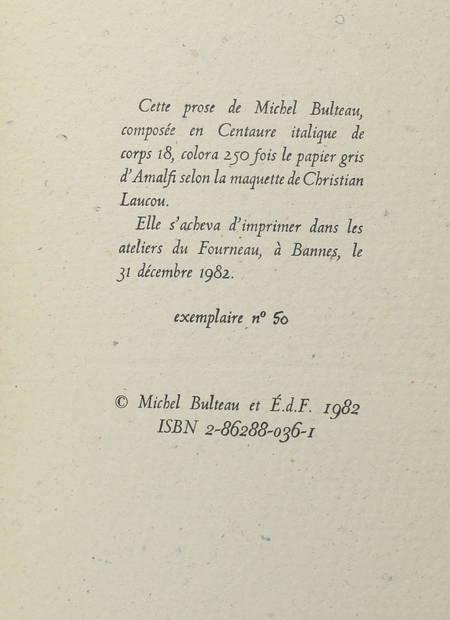 BULTEAU (Michel). Le martyre de M. de Palmyre