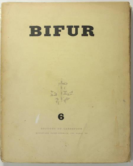 [Surréalisme, Revue] Bifur. N° 6 - 1930 - Photographies - Photo 1 - livre d occasion