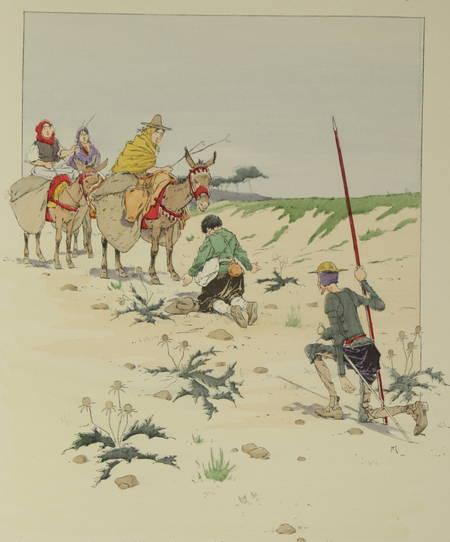 CERVANTES - Don Quichotte de la Manche - Illustrations par Henry Morin - Photo 0 - livre moderne