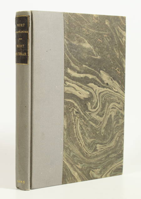 Vérité sur la mort d Alexandre, Littré + Mort de Jules César, par Damas - 1865 - Photo 1 - livre de bibliophilie