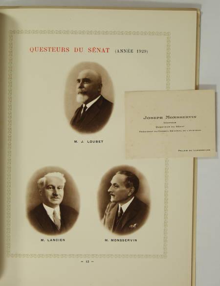 . Réception de M. Gaston Doumergue, président de la République française au palais du Luxembourg. 28 février 1929