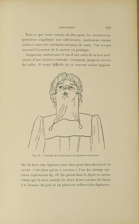 [Dentisterie]REDIER - Traité théorique et pratique de la carie dentaire - 1900 - Photo 0 - livre de collection