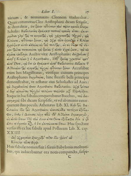 [Philologie] Samuel Petit - Miscellaneorum libri novem - 1630 - Photo 3, livre ancien du XVIIe siècle