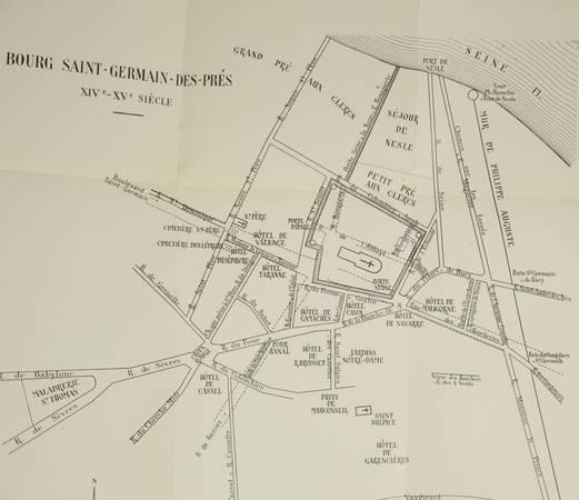 LEHOUX - Saint-Germain-des-Prés - Des origines à la Guerre de Cent Ans - 1951 - Photo 1, livre rare du XXe siècle