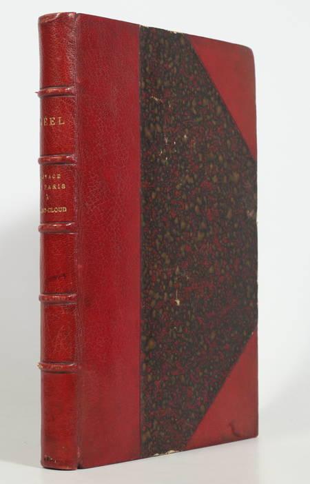 NEEL - Voyage de Paris à Saint-Cloud par mer et retour de Saint-Cloud - 1884 - Photo 0 - livre de bibliophilie