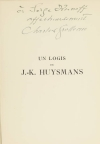 GROLLEAU (Charles) et GARNIER (Georges). Un logis de J.-K. Huysmans. Les prémontrés de la Croix-rouge