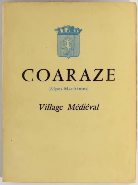 [Provence] CAPPATTI - Coaraze (Alpes-Maritimes) - Village médiéval - 1955 - Photo 0 - livre de collection