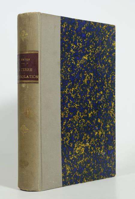 HAYES - La terre de désolation, excursion d été au Groënland - 1874 - Photo 1, livre rare du XIXe siècle