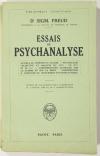 FREUD (Sigmund). Essais de psychanalyse. Au-delà du principe de plaisir - Psychologie collective et analyse du Moi - Le Moi et le Soi - Considérations actuelles sur la guerre et sur la mort - Contribution à l'histoire du mouvement psychanalytique
