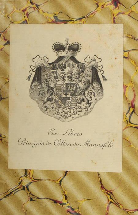 Alexandre DUMAS - La régence - Ex-libris du prince de Colloredo-Mansfeld - Photo 0 - livre de collection