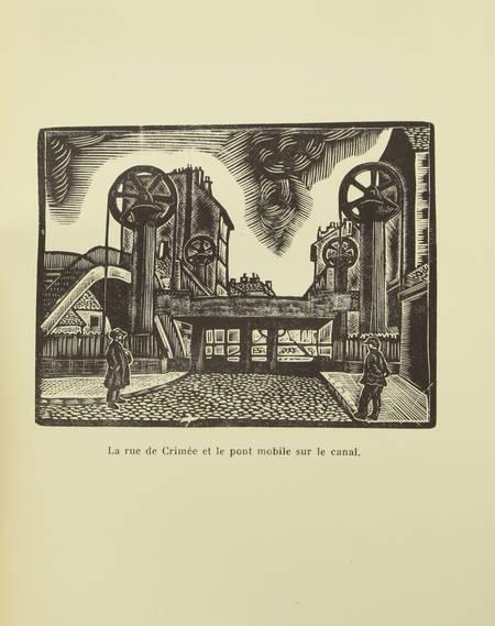 ROUQUET - La Villette - Vie d'un quartier de Paris 1930 - Illustré par l'auteur - Photo 0 - livre moderne