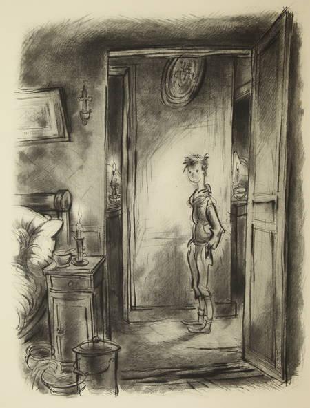 Sacha GUITRY - Le roman d'un tricheur - 1953 - 20 eaux-fortes d'André Collot - Photo 0 - livre de collection