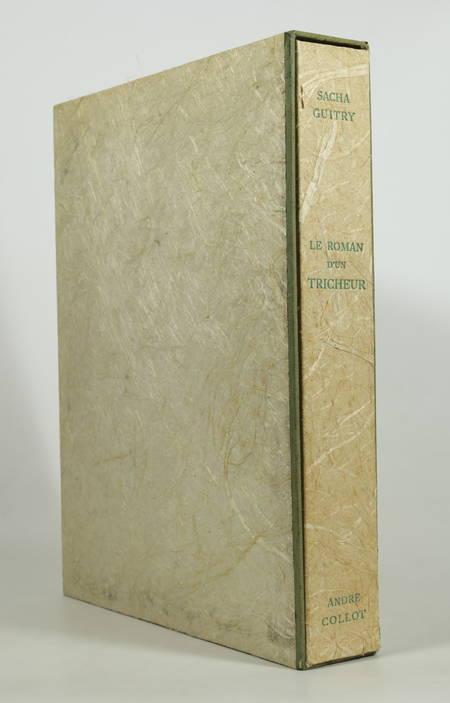 Sacha GUITRY - Le roman d un tricheur - 1953 - 20 eaux-fortes d André Collot - Photo 1 - livre de collection