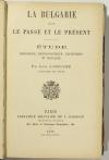 LAMOUCHE La Bulgarie dans le passé et le présent - Etude historique ... 1892 - Photo 1, livre rare du XIXe siècle