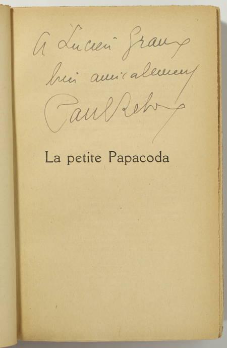REBOUX (Paul). La petite Papacoda. Roman napolitain, livre rare du XXe siècle