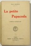 REBOUX - La petite Papacoda - Roman napolitain - 1923 - Envoi - Photo 1, livre rare du XXe siècle