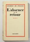 Gilbert de VOISINS - L absence et le retour - 1928 - EO sur Alfa - Photo 1 - livre d occasion