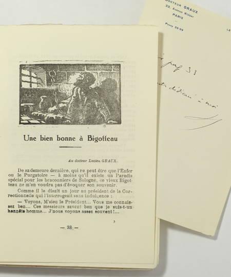 [Sologne] HUBERT-FILLAY - Contes des Guernipis - (Vers 1934) - Envoi - Photo 2 - livre du XXe siècle